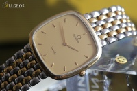 OMEGA DE VILLE Duo-Tone SQUARE s/GOLD ---SOLD ---